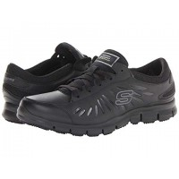 SKECHERS Work Eldred - Relaxed Fit Color: Black 8322496 KWVUEHI